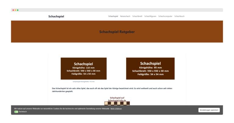 Nächstes Projekt: Website Optimierung